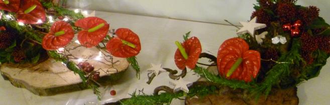 Workshop kerst bloemstuk