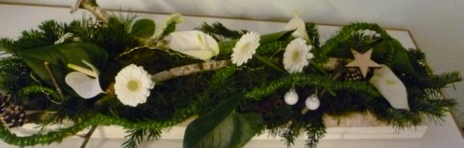 Kerst bloemstuk